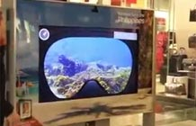 菲律宾旅游局户外互动装置