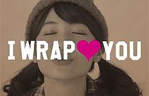 日本百货店Plazastyle节日促销 有爱包装纸