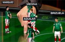墨西哥电视台世界杯AR讲解