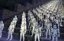 迪斯尼星球大战中国营销活动 暴风兵攻占长城