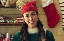 JWT智威汤逊广告公司圣诞节创意 礼物背后的小矮人