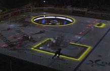 瑞士冰球联赛酷炫创意投影表演