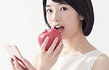 日本长野县创意营销 吃苹果看牙科