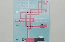德国杜塞尔多夫音乐节创意海报 海报变乐器