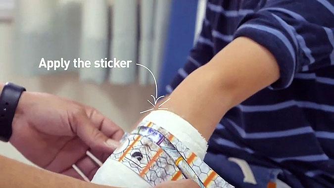 以色列健康基金会Meuhedet创意活动 AR手臂
