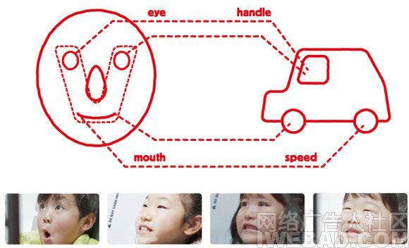 本田汽车技术车展广告活动《微笑驾车》