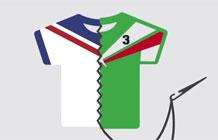 美国福特汽车世界营销活动 多国球衣