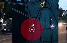 奔驰汽车移动营销活动 与奔驰车捉迷藏