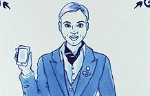 KLM航空公司新航空安全广告 台夫特陶器动画