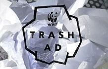 日本WWFf公益广告 废纸变广告
