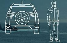 巴西福特汽车营销活动 备胎罩变露营帐篷