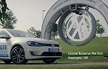 保加利亚大众汽车技术营销活动 动能变电能
