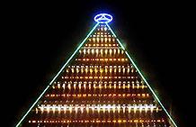 巴西奔驰汽车圣诞节营销活动 世界上最大的圣诞树