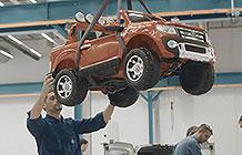 西班牙福特汽车圣诞节广告活动 流水线造儿童车