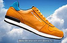 荷兰航空KLM另类营销 阿姆斯特丹步行鞋