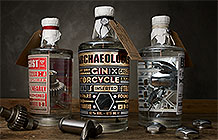 德国哈雷摩托品牌店Ehinger Kraftrad创意活动 零件泡酒
