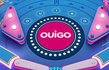 法国廉价铁路公司Ouigo创意游戏 弹球游戏