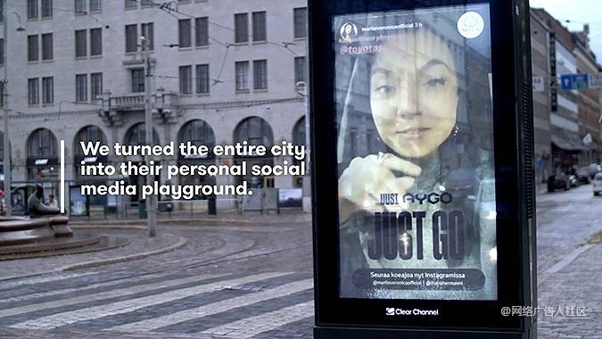 芬兰丰田汽车Instagram宣传活动 试驾直播