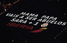 西班牙航空公司Iberia圣诞节活动 祝福语