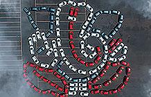 印度jeep汽车象头神节宣传活动 汽车组成的象头神