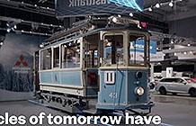 瑞典公共交通服务公司Vasttrafik宣传 电车进车展