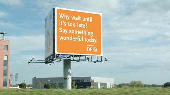 Dela保险公司广告案例《说出心声》