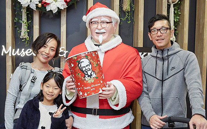 圣诞节吃肯德基,是怎么通过营销成为日本传统的?