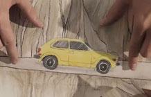 本田汽车又出好创意 3000张画就为拍一只广告