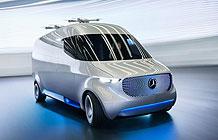 奔驰概念创意物流车 装备无人机送货