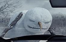 加拿大尼桑汽车宣传广告 雪人暴走篇
