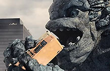 本田汽车创意广告 怪兽大战