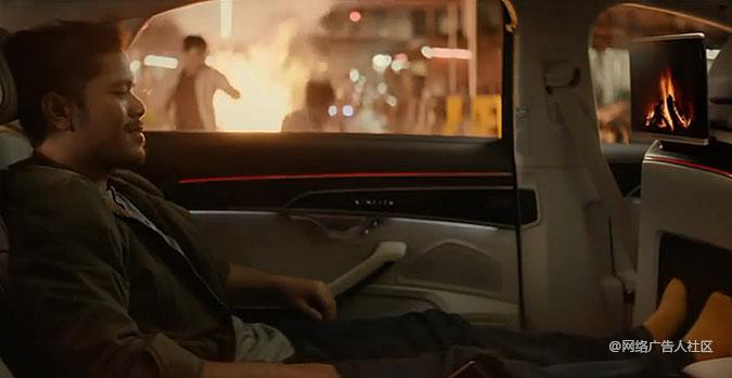 奥迪汽车创意广告 曼谷街头