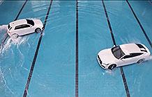 奥迪汽车广告 水上芭蕾