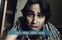 英国公益组织宣传广告 逃难的女孩