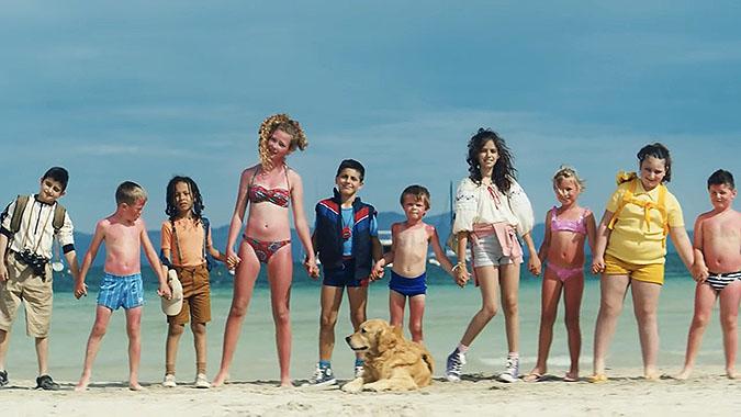 丹麦癌症协会广告 帮助丹麦小孩