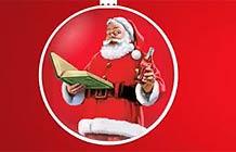 可口可乐圣诞节广告 make someone smile