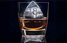 芝华士威士忌与汽车设计公司合作 水滴冰块