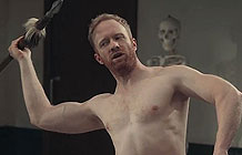 【字幕】士力架广告 饿了可能做错事 裸男篇