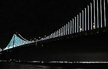 喜力啤酒旧金山大桥海湾之光赞助小广告