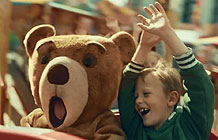北欧黄油品牌SoftFlora广告 玩具熊篇