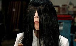 日本士力架广告找贞子来代言