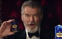 63岁007邦德布鲁斯南代言印度口香糖广告 永不过时