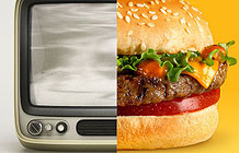 英国快餐公司Rustlers创意广告 80年的忍耐
