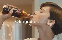巴西可口可乐2016圣诞节广告 送去快乐