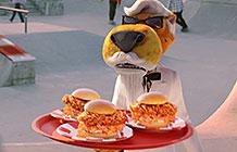 KFC与奇多食品异业合作广告 切斯特上校