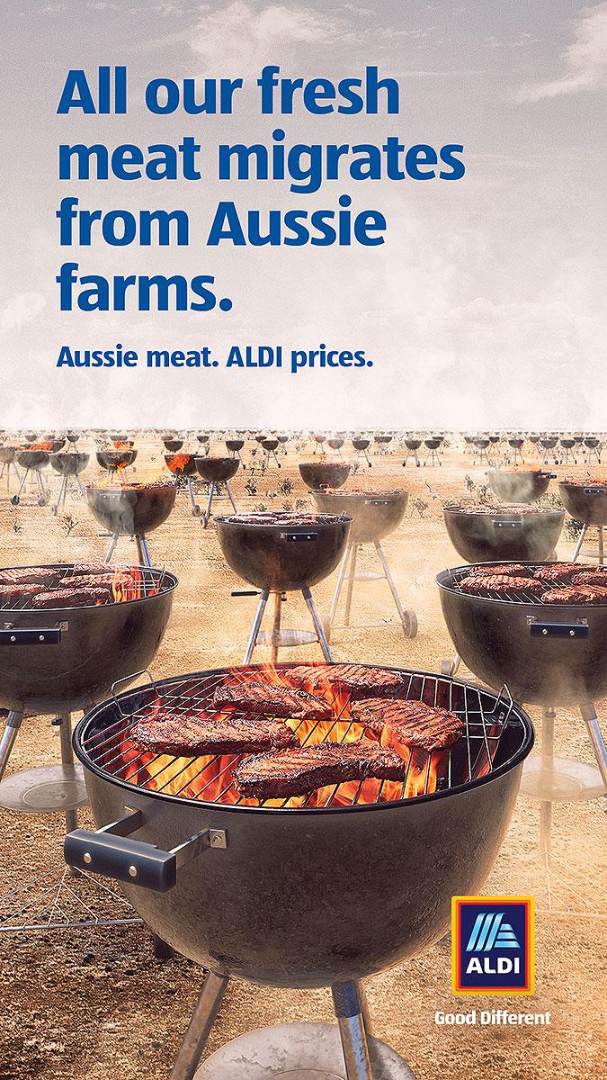 澳大利亚连锁超商ALDI创意广告 迁徙