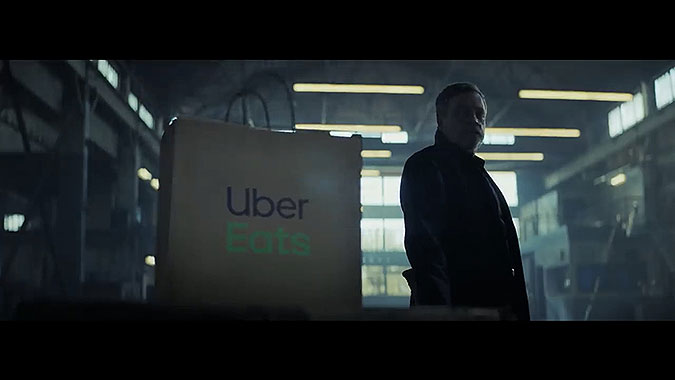 Uber Eats外卖广告 星球大战VS星际迷航