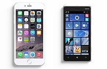微软Lumia挑战苹果iPhone6  就是大