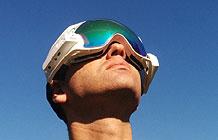RideOn滑雪专用现实增头戴式设备
