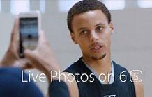 NBA球星库里代言iPhone 6s广告